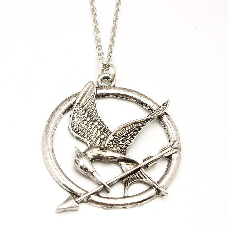 Mockingjay Pendant Sterling Silver 925 Hunger Games Mockingbird Jewellery Gift