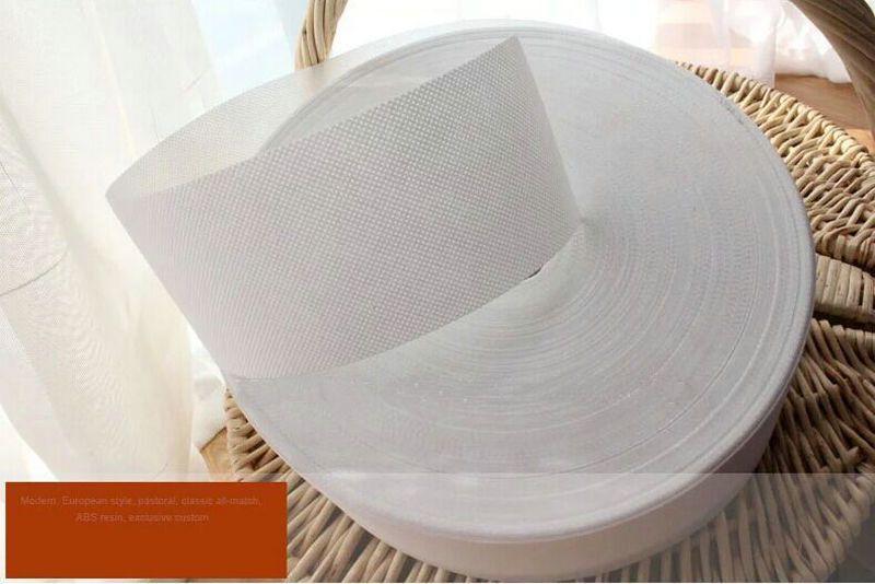 accessori tenda poliestere 10 centimetri imbottito tessuto tenda nastro della cintura stoffa per tende occhielli anelli occhielli 10meters