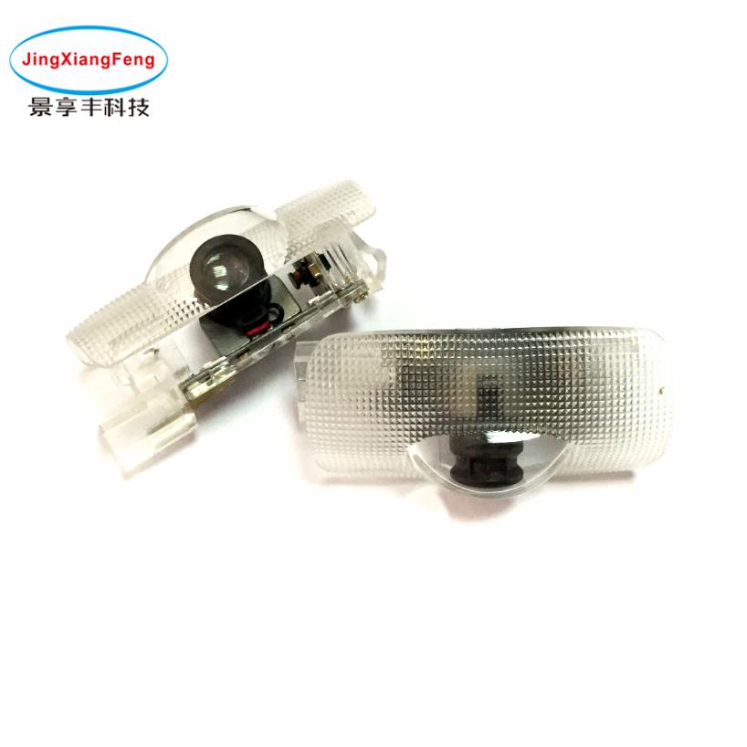 2PCS Case For Toyota Crown Camry LED Car Door Welcome Laser Projector Logo Ghost Shadow Car Interior Lights