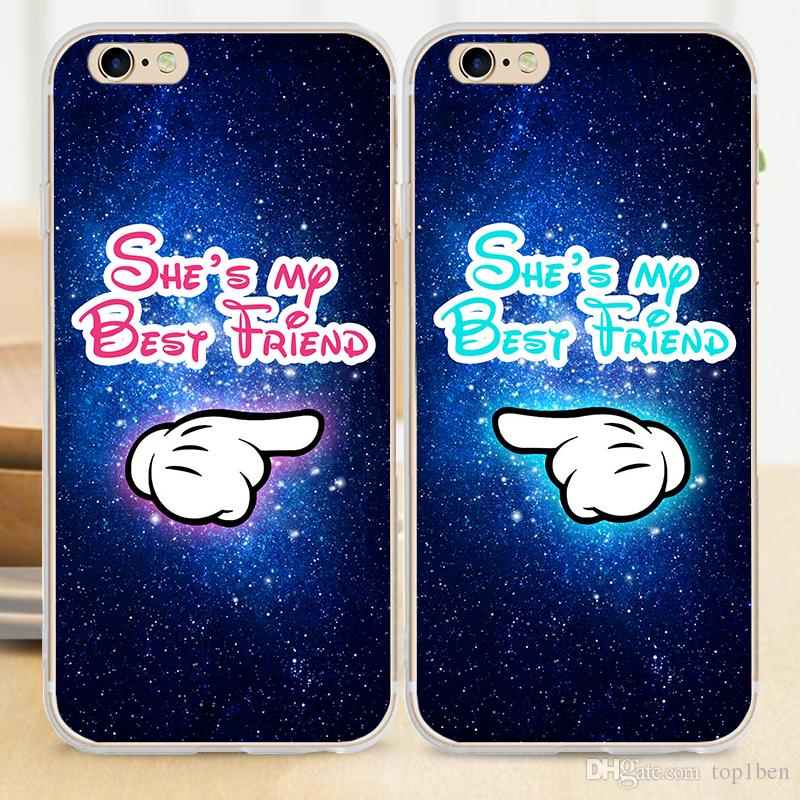 check out ecfdf ff80e 2017 This Is My Best Friend TPU Rubber Customized Soft Case For IPhone 7 6S  6 Plus 5S 5C 4S SE Phone Cover Customized Phone Cases From Top1ben, ...