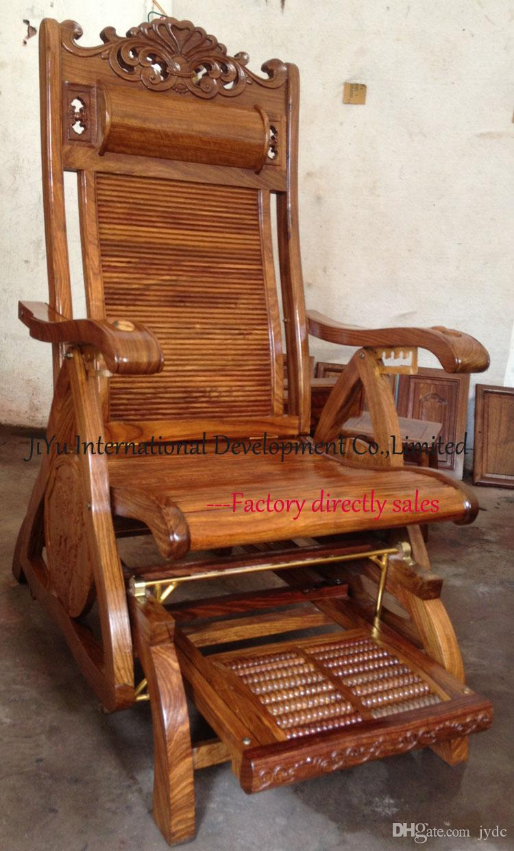 Antique easy chair - 2016 Wood Chairs Antique Rocking Chairs Easy Chairs Happy Time Siting 100 Luxury African Red