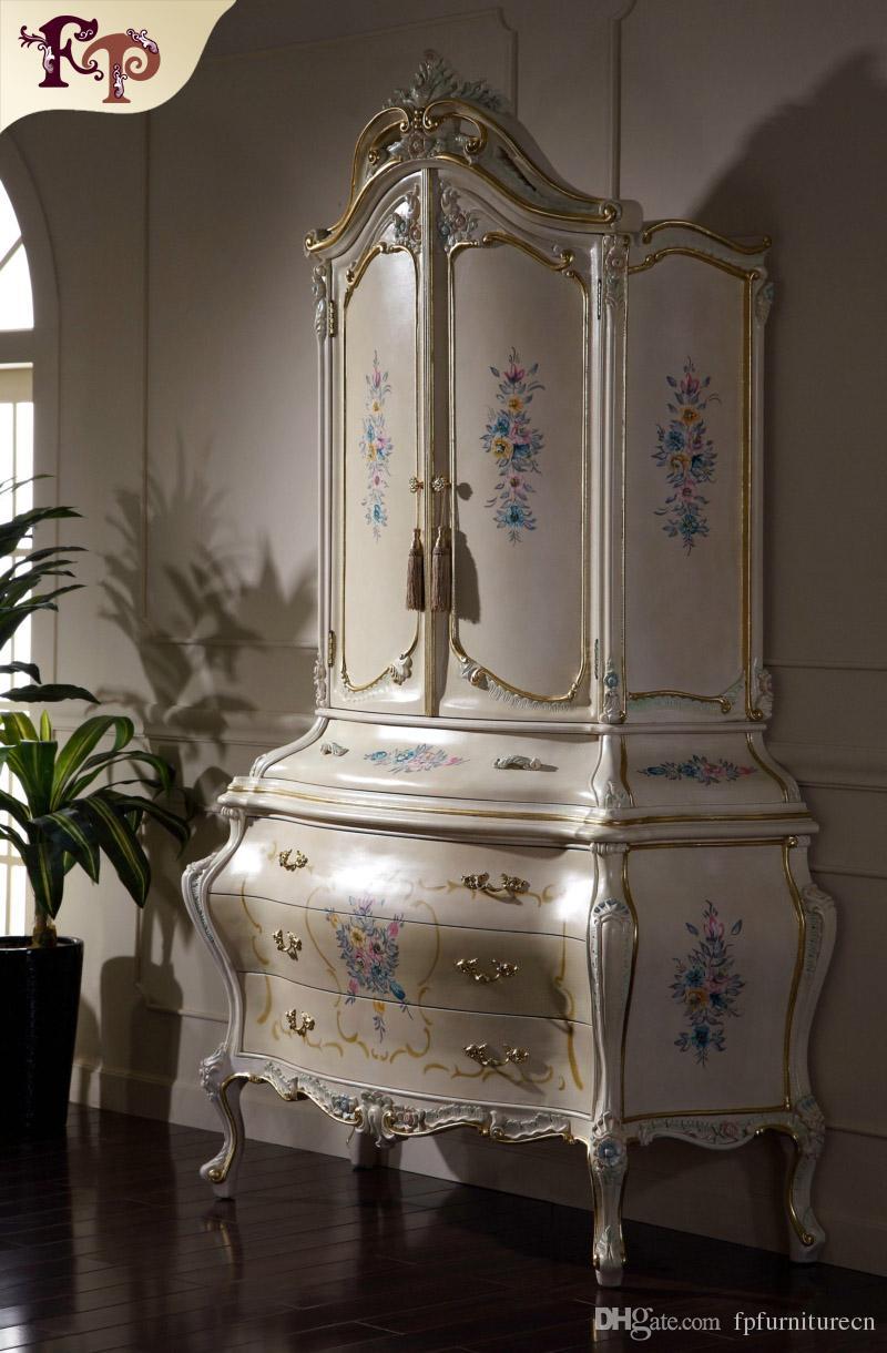 2019 Italian Classic Furniture Manufacturer Antique Bedroom
