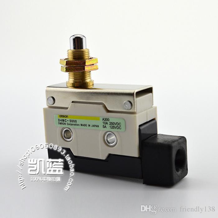Nuovo D4MC-5000 Pulsante microinterruttore a stantuffo Pulsante 100 percento Garanzia di buona qualità Punto d'argento impermeabile