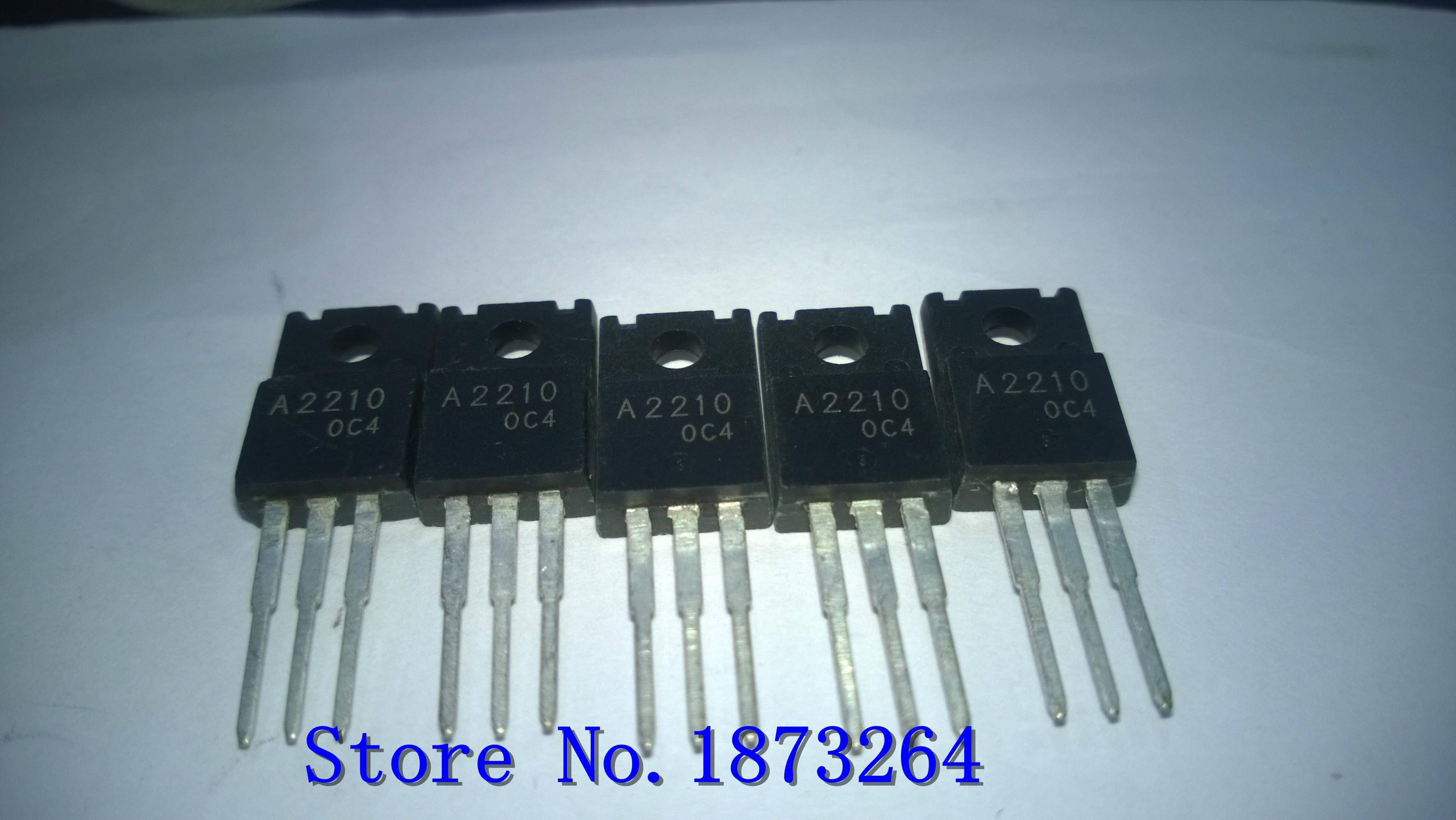 Envío gratis Nueva impresora original en el tubo A2210 C6082 2SA2210 2SC6082 5 Par / LOTE