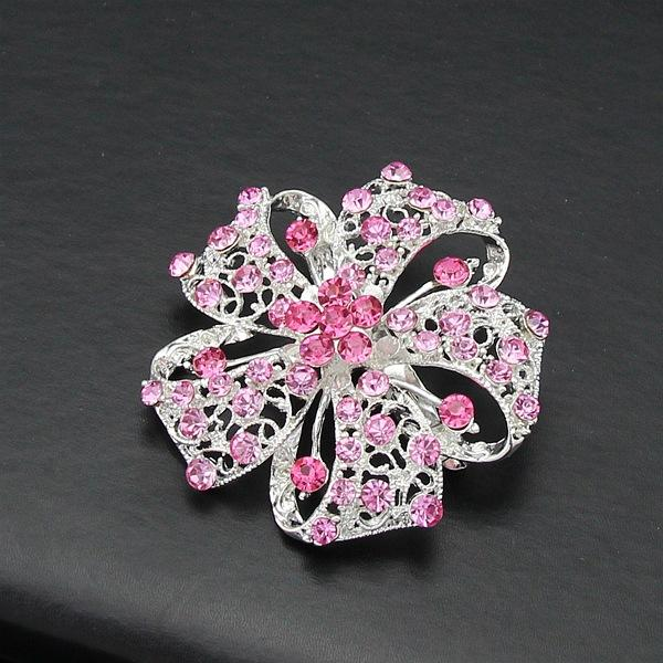 2018 Hot Brooches For Wedding Crystal Broches Fashion Vintage Women  Rhinestone Brooch Crystal Flowers Brooches Pins Free Ship From Bestdeal888,  ...