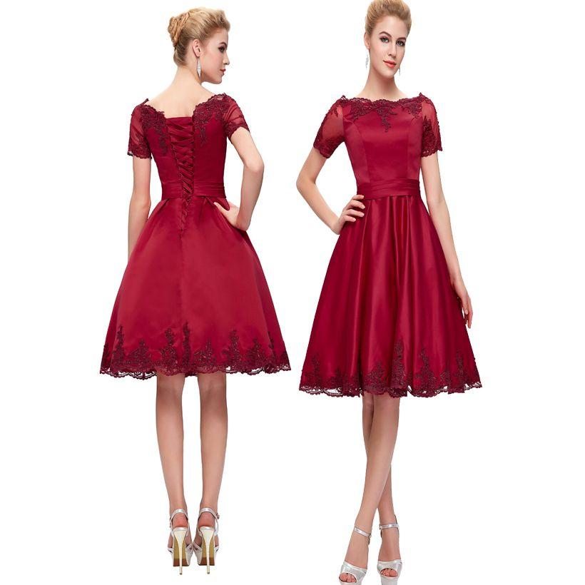 Red Short Cocktail Dresses