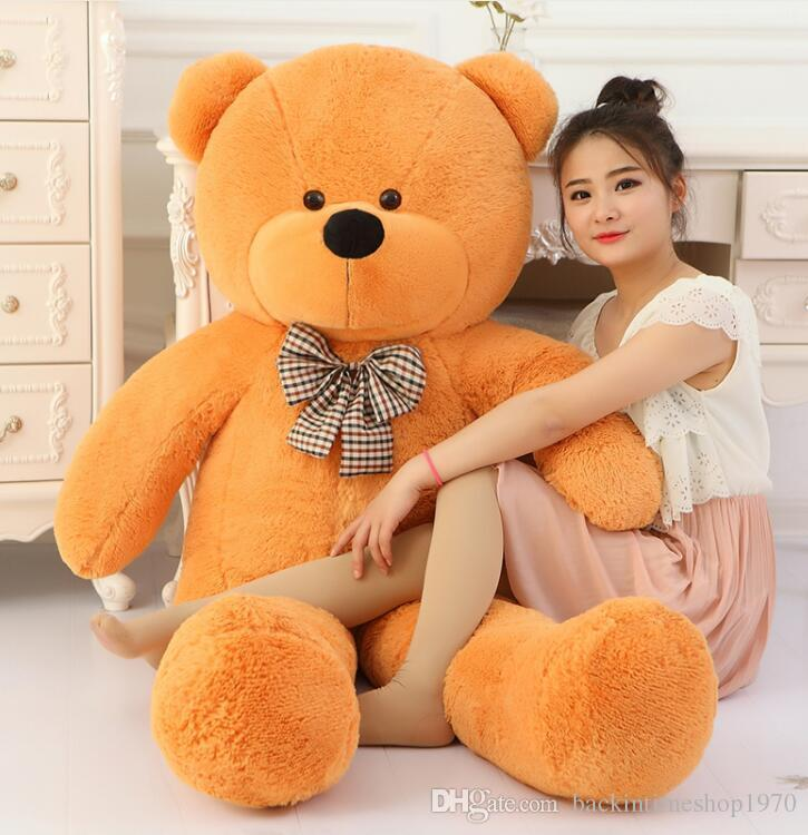Big Sale big teddy bear giant large stuffed toys animals plush kid children baby dolls lover toy valentine gift for girls