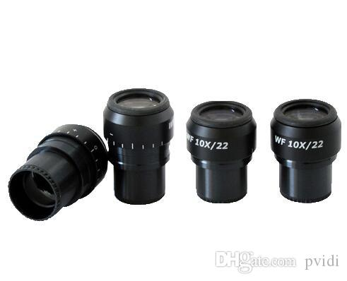 Biological Microscope,WF10X//18mm Biological Microscope Wide Angle Hight Eyepiont Eyepiece Lens10X Magnification Optical Lens
