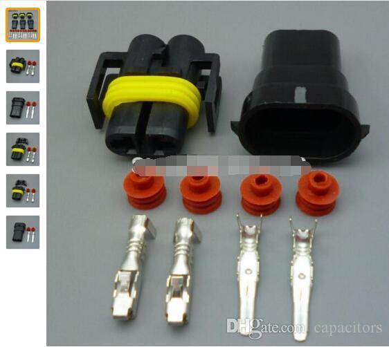 Großhandel H11 H8 9005 Hb3 9006 Hb4 2 Pin Auto Wasserdichte ...
