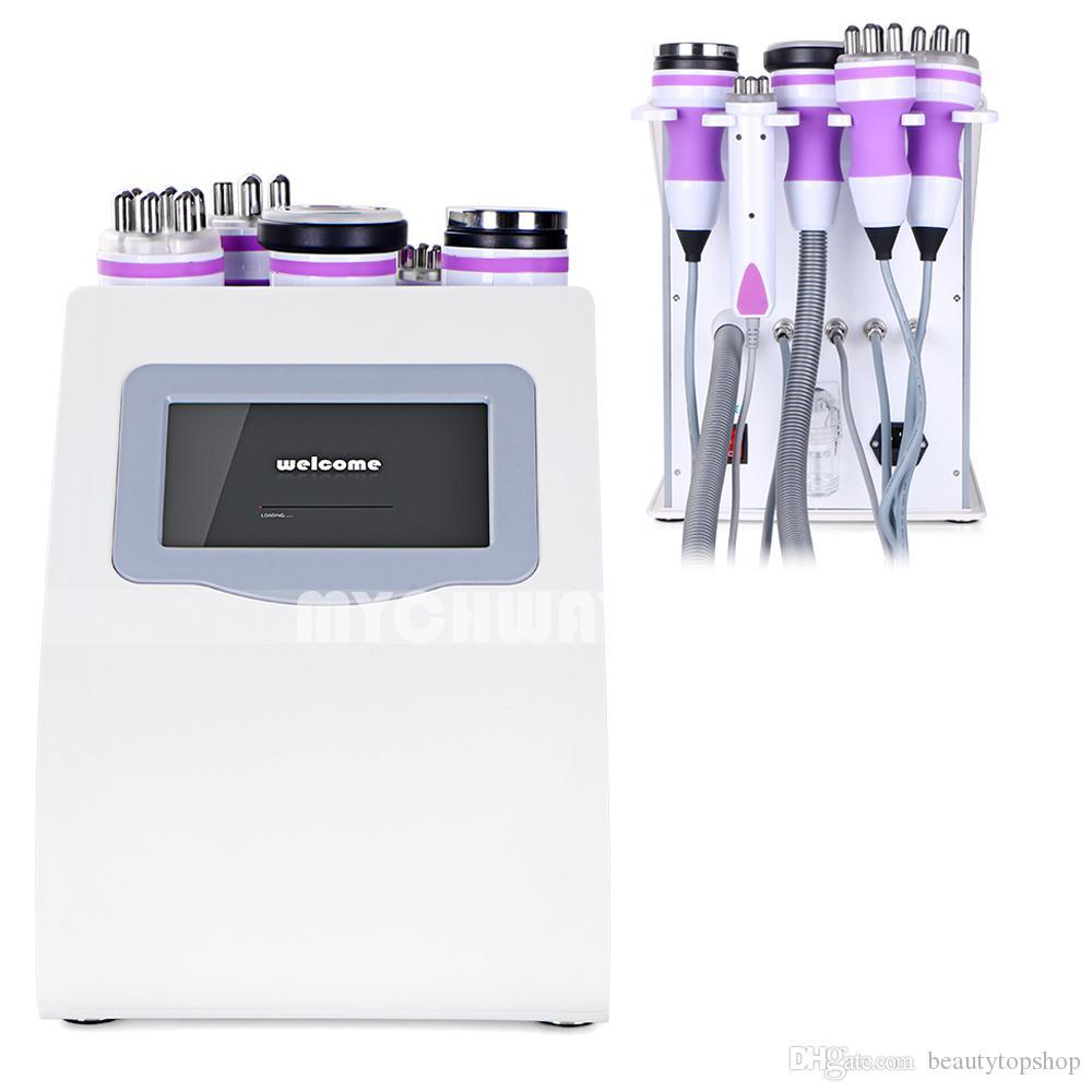 Ekran dotykowy 5-1 UNOISETENT Ultradźwiękowy 40k Cavitation Fat Burning RF Face Care Body Odchudzanie Spa