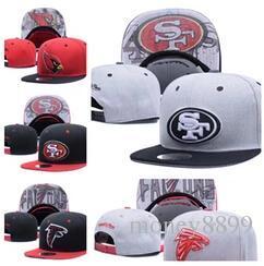 톱 세일 2017 새로운 축구 Snapbacks 저렴한 스포츠 팀 모자 고품질 스냅 소녀와 소년 모자 인기있는 팀 플랫 모자