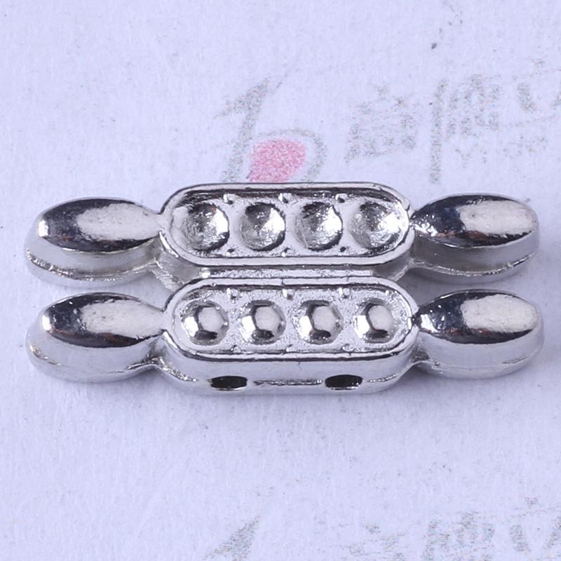 Retro plata / bronce DIY mano colgante de la joyería de la escama puede Diamond Fit collar o pulseras 250pcs / lot 3320