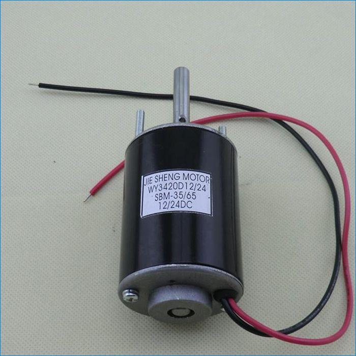 12 Volt Motor >> 2019 12 Volt 3500 Rpm 24 Volt 7000 Rpm Dc Motors 15w 20w Micro High Speed Dc Electric Motor Marshmallow Motor J141002 From Janowang 30 07