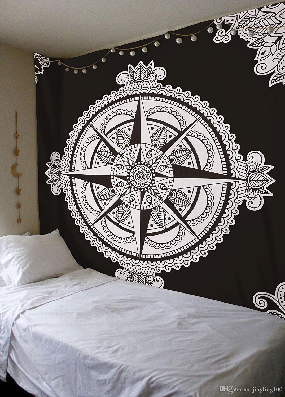 Arredamento Stile Hippie acquista 8 stile 3d stampa arredamento la casa camera da letto soggiorno  bagno sala da pranzo murale arazzo studio sala spiaggia home decor 150 *  130