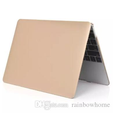 Hard Plastic Case Metallic Luster Cover Protective Shell for Macbook Air Pro Retina 11 12 13 15 inch Fuel Injection Crytal Cases