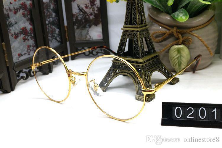 Luxury Optical Sunglasses Metal Frames Glasses Men Women Designer Eyeglasses Rose Gold Silver Frames Glasses Frame With Original Logo