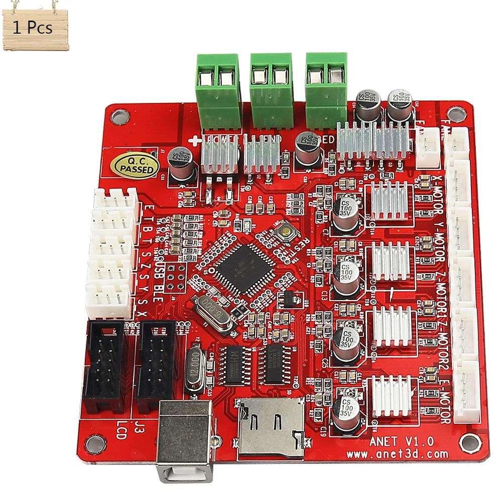 Freeshipping Impressora 3D Motherboard Impressora de Controle de Partículas Prusa Repra I3 para impressora 3D anet A8