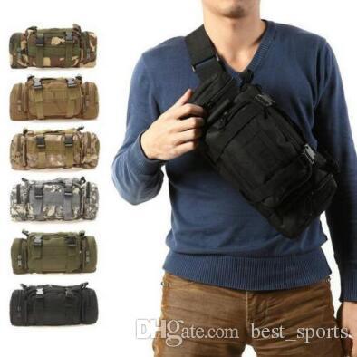 9 colori impermeabile tessuto Oxford borse da arrampicata all'aperto militare tattico in vita pacchetto molle campeggio borsa da viaggio sacchetto CCA7341 30 pz