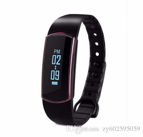SH07 OLED Bluetooth 4.0 Smart-Armband Sport-Armband Pedometer Kalorie Schlaf Tracker Call Reminder für Android IOS Smartwatch