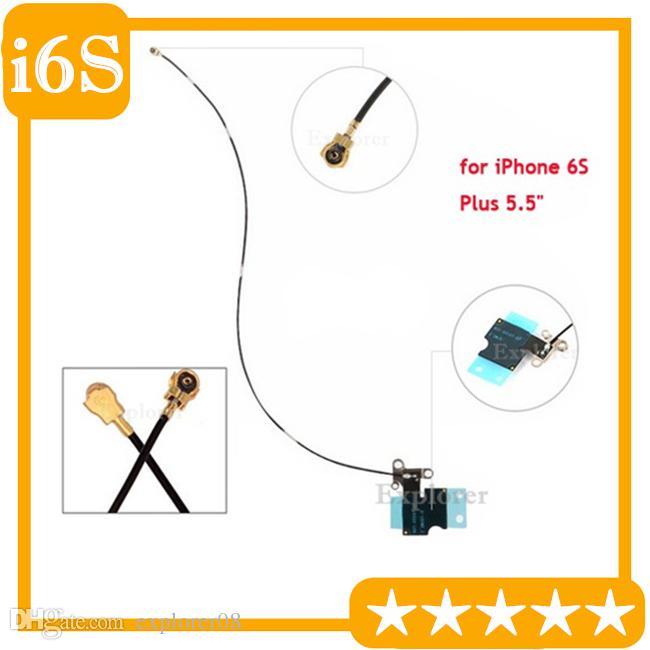 """Nueva original WiFi largo de la señal inalámbrica flexión de la antena de cable para iPhone 6S más 5,5"""" Sustitución Wifi flexión de la antena de cable 20Pcs / Lot"""