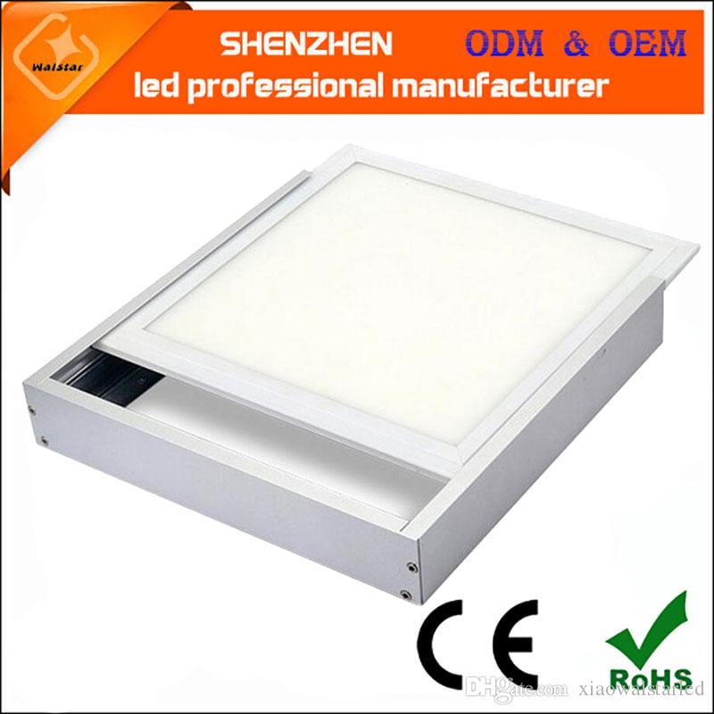 300 * 300 300 * 600 300 * 1200 600 * 600 600 * 1200 oberflächen montiert led-panel licht zubehör Konvertieren rahmen für oberflächenmontage deckenrahmen