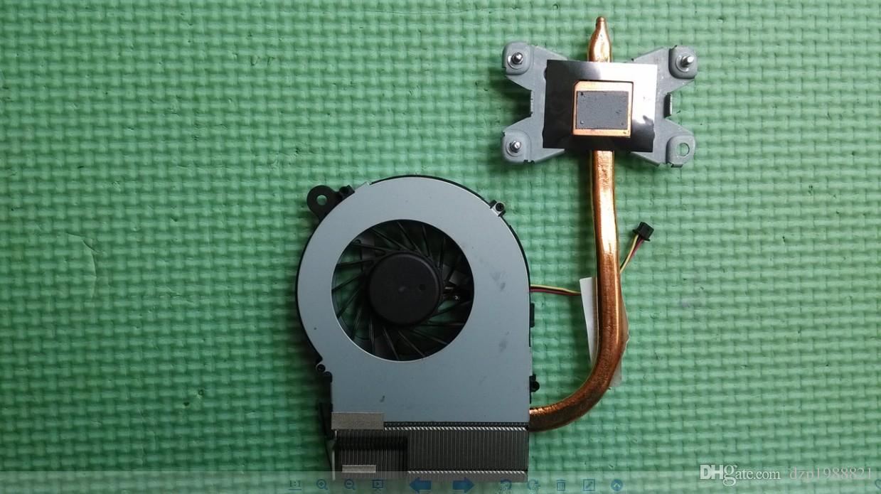 Nouveau refroidisseur d'origine pour HP pavilion G4 G6 G7 G4-1000 G6-1000 g7-1310us dissipateur de chaleur du processeur avec ventilateur 643258-001 641140-001 4GR13HSTP80