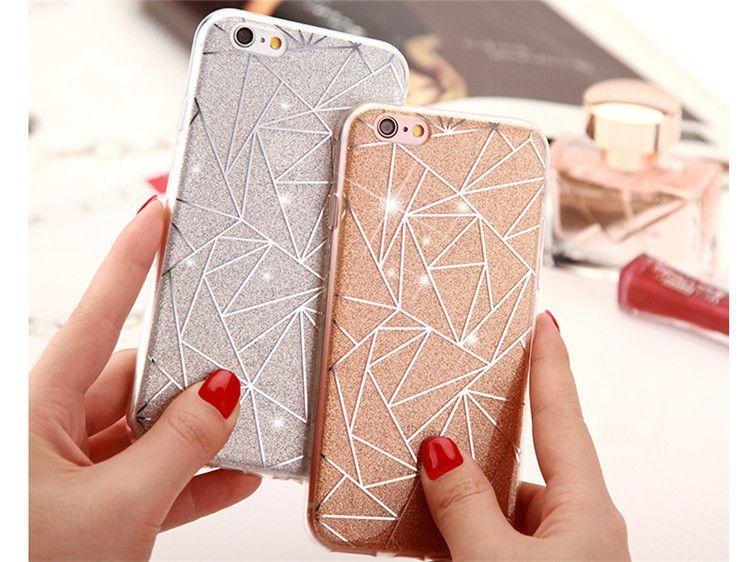 iphone 7 glitter gel case