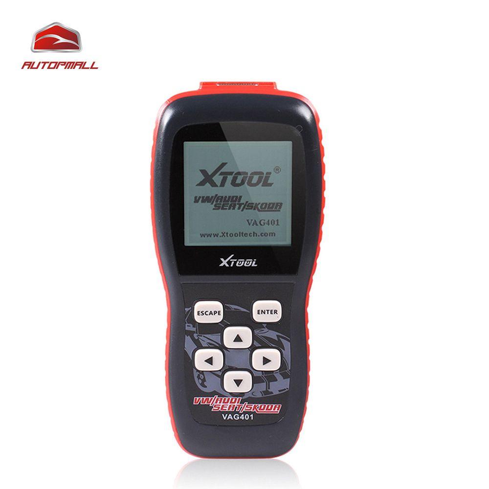 Auto Car Diagnostic Tool Xtool VAG401 OBD2 Diagnostic Scanner For VW/Audi/Skoda/Seat VAG 401 OBDII Code Reader ABS SRS Engine