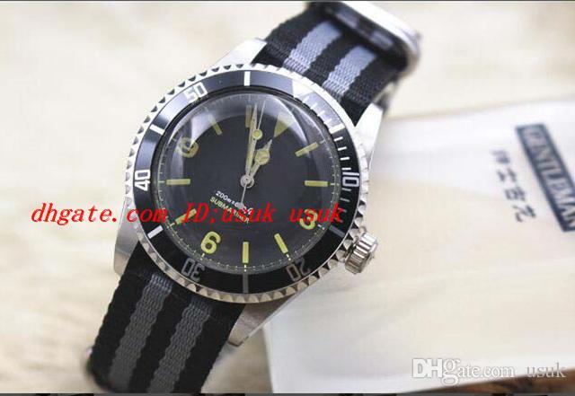 Relógios de luxo relógios perpétuos 176200 mostrador preto sem data relógios de relógios masculinos automáticos