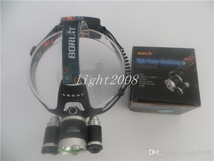 CREE XML T6 Led Headlamp 4 Modes High Power XM-L Head Lamp for Outdoor Fishing Hiking Travelling 5000 Lumens Led Headlight Light 100-240V