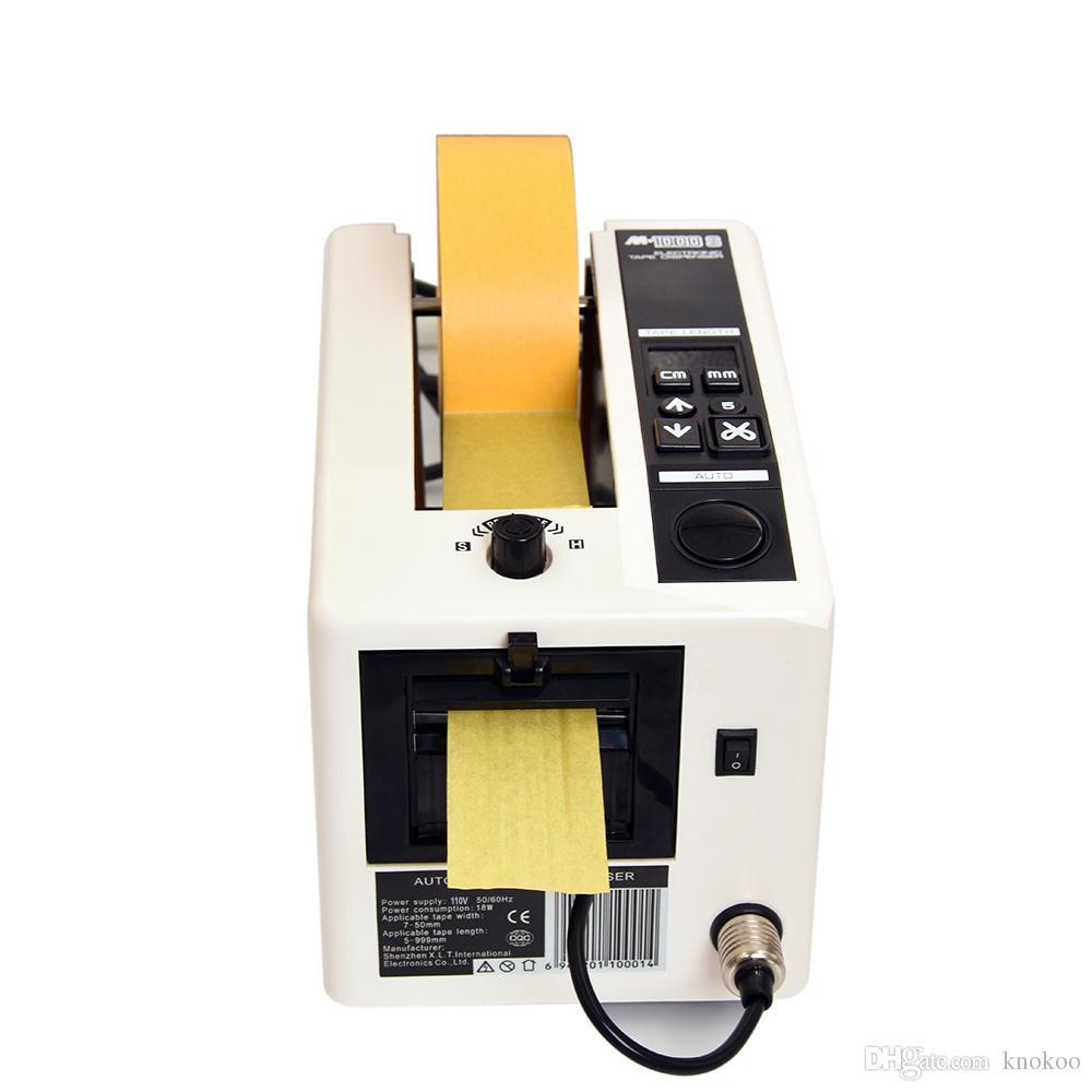 Knokoo عالية Qual الشريط موزع M1000S التلقائي آلة قطع الشريط لمدة 7 ~ 50MM واسعة الشريط طول القطع 5-999mm