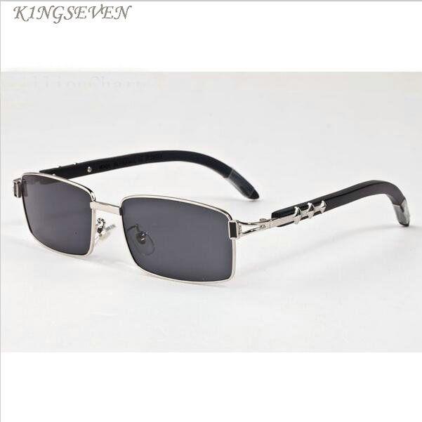 خمر النظارات الشمسية الرجعية الأزياء الرياضية للمرأة الإطار الكامل النظارات الشمسية الخيزران الخشب الفضة إطار الذهب والبني الأسود عدسة واضحة مع حالة