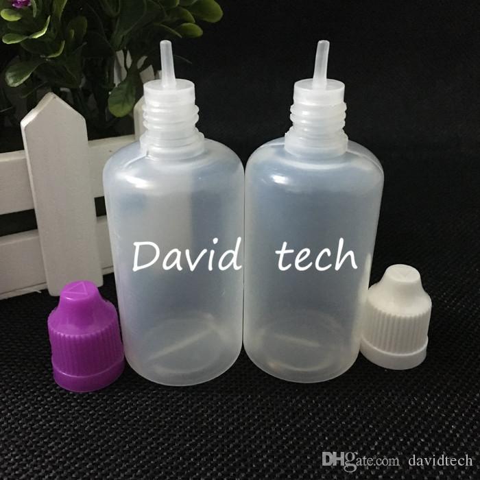 il trasporto libero bottiglie di plastica all'ingrosso 2000pcs sacco tappo a prova di bambino bottiglia contagocce, 50ml occhio bottiglia di plastica / contagocce