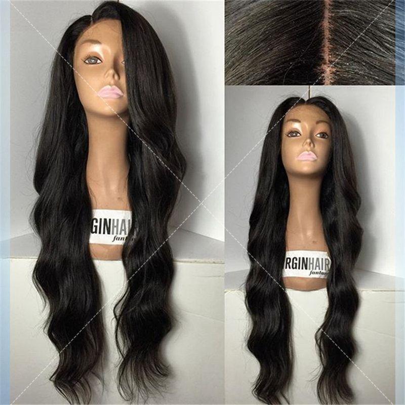 7A Grade U Part Human Hair Wigs For Black Women Brazilian Virgin Human Lace Front Wig 130 Density Full Lace Human Hair Wigs