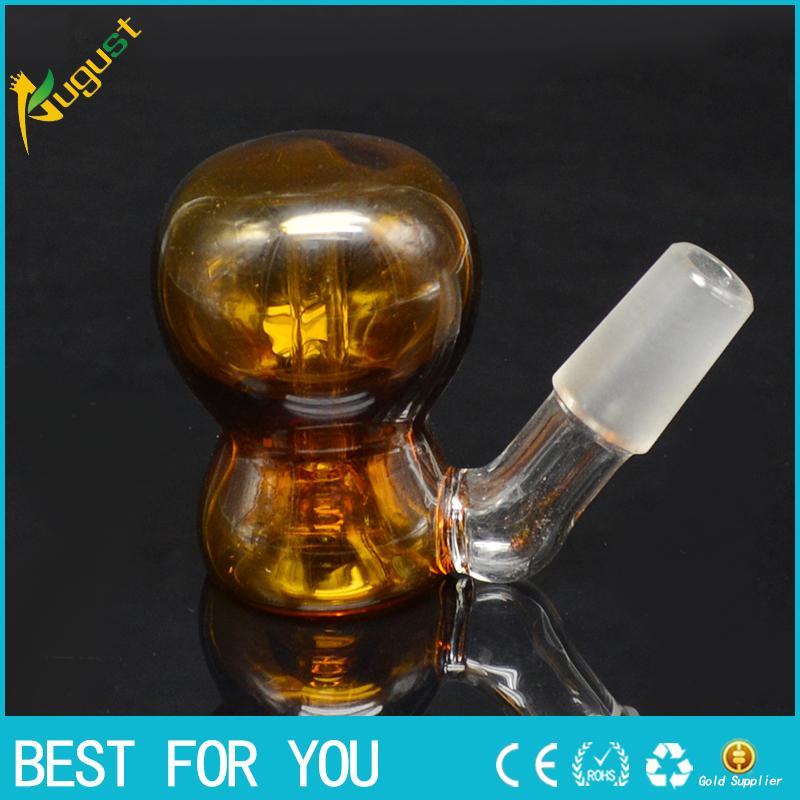 portacenere fumatore vetro tubo vaporizzatore bong 14 mm 18 mm sneak un tubo d'acqua in vetro bang toke