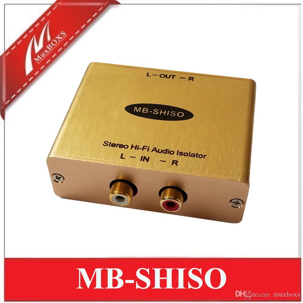 Stereo Hi-Fi Ses Yalıtımı Trafo RCA Ses İzolatör stereo ses trafosu