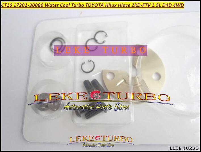 Турбонагнетатель отстроить заново CT16 17201-30080 комплекта для ремонта Turbo воды холодный для Тойота Landcruiser Hiace Hi-Люкс Hilux 2KD 2KD-FTV D4D 4WD