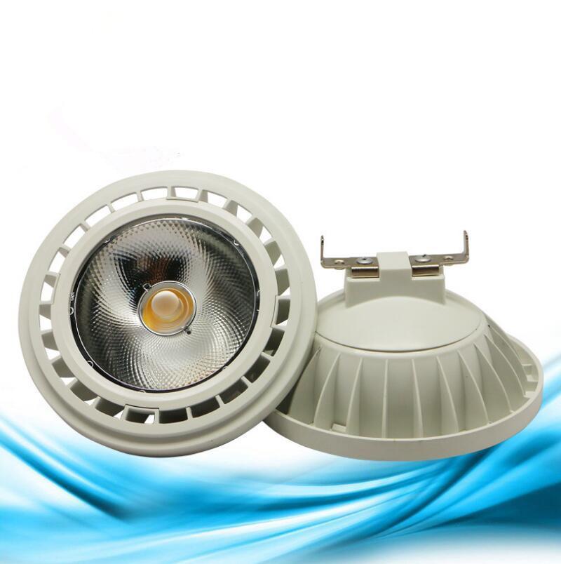 Livraison gratuite COB AC85V-265V 10W 12W 15W LED AR111 QR111 GX53 LED COB spot lumineux à LED GU10 Ampoules Blanc chaud Blanc froid