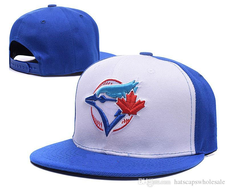 One Piece Men's Snapback Hat Team Logo Embroidery Sport Toronto Baseball Flat Caps with Special Brim Hip Hop Chapeaus Brands