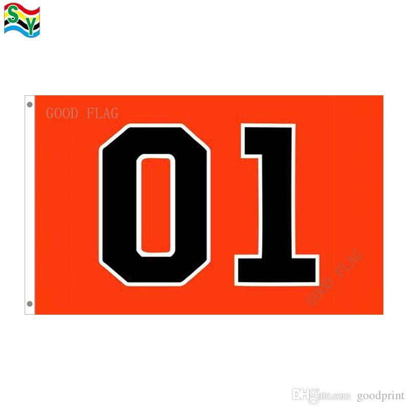 Генерал Ли 01 флаги баннер размер 3x5ft 90 * 150см с металлическим втулкой, открытый флаг