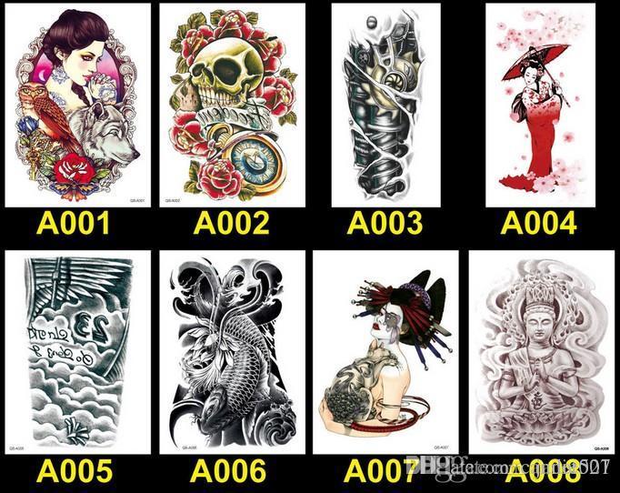 Arte Corporal Tatuagens 100 Estilos À Prova D 'Água Tatuagens Temporárias Transferência de Água Tatuagens Corpo Beleza Arte