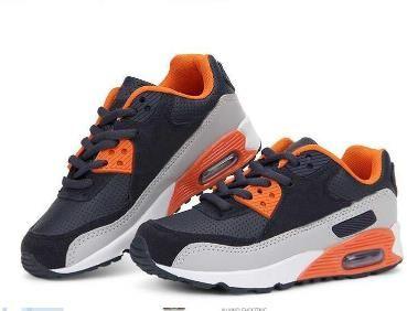 2017 Горячий Продавать Детская Обувь бренда девочек и мальчиков кроссовки на воздушной подушке обувь удобная дышащая детская спортивная обувь