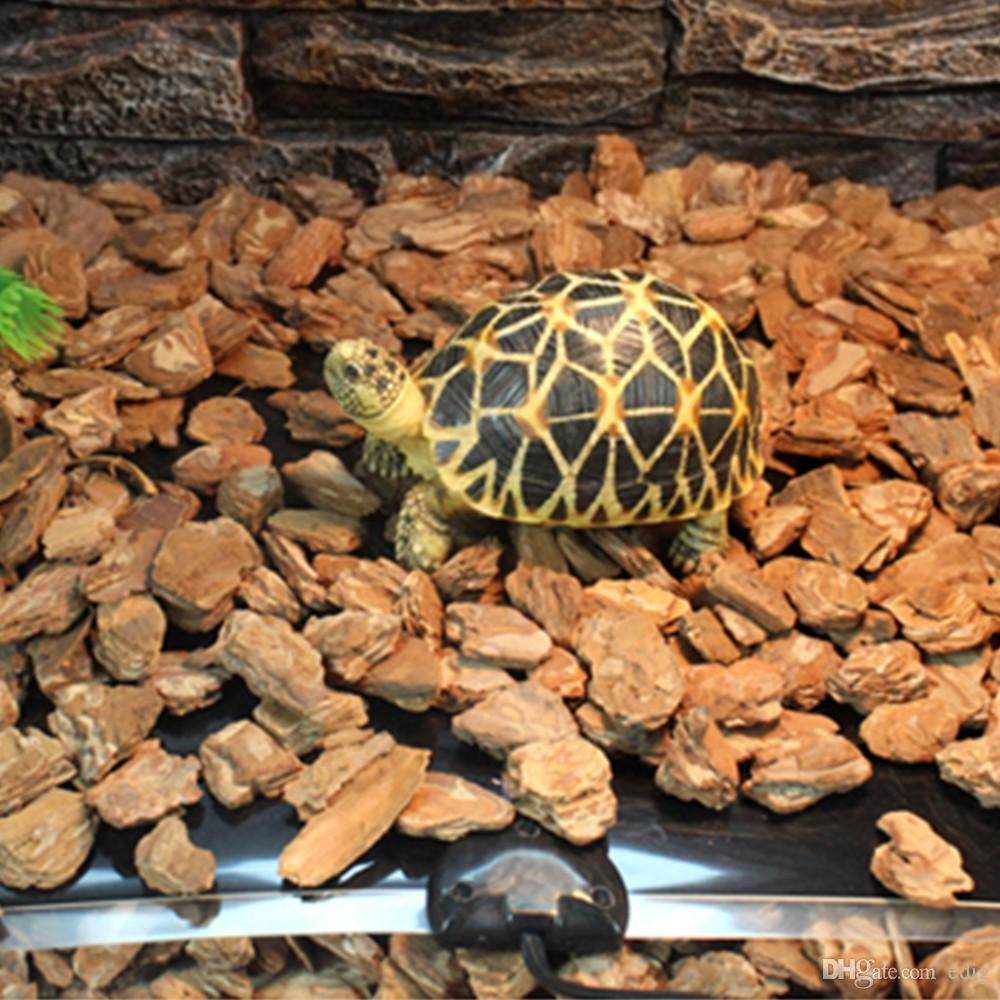 Mat populares calor 15x28cm del reptil 7W criadora Incubadora mascotas cojín de calefacción del Brew de enchufe de la UE