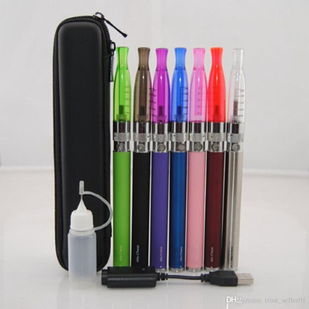eGo C Twist GS H2 Starterkit für elektronische Zigarette Ego-Batterien E-Zigaretten mit variabler Spannung H2-Zerstäuber E-Zigaretten-Etui