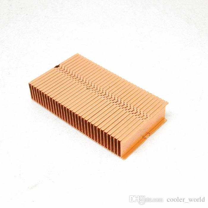 Copper Fin heat sink 37x20.5x7 mm