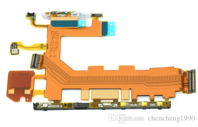 100% neue Soem-Qualitäts-Energie-Flexkabel mit Volumen-Kamera-Knöpfen für Sony Z1 L39h Z2 D6502 d6503 Z3