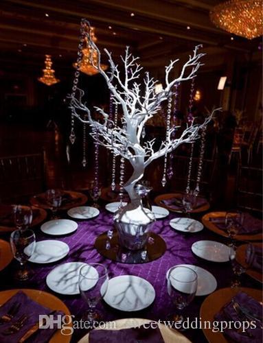 kein hangging Kristall einschließlich) Hochzeits-Mittelstück / Tabellen-Mittelstück, weit, freies Schiff, Hochzeits-Dekor