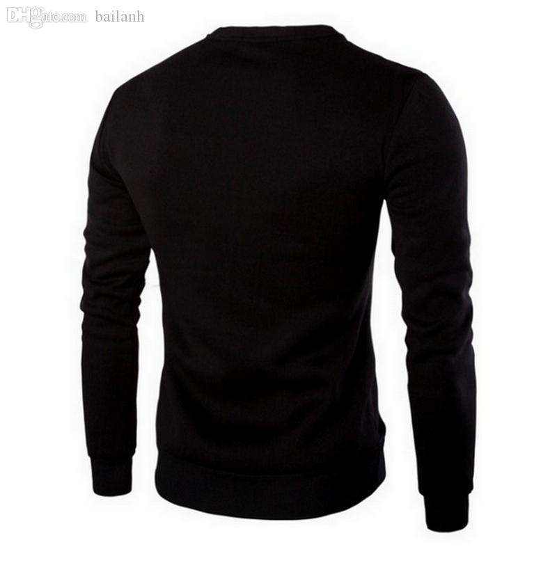 Atacado-Plus Size M-5XL Couro Patchwork Hoodies Homens Decoração Zipper Suéter Homens Casual Esporte Casaco Moda Roupas Masculinas