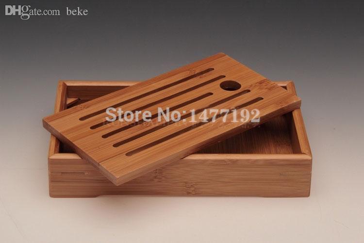 All'ingrosso-CALDO! STELLE di bambù strumenti di kung fu vassoio per tazza e teiera vassoio di bambù solido imposta spedizione gratuita