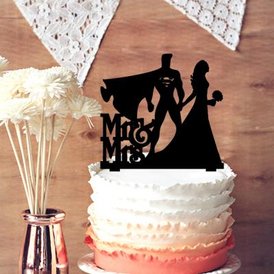Custom Rustic Wedding Cake Topper Bride And Groom With Script MrMrs Movie Character